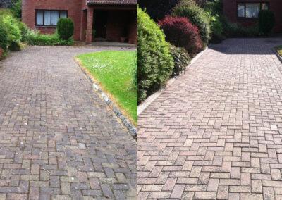 Cobble-Driveway-Cleaning-Service-Mayo,-Sligo,-Roscommon,-Galway-Ireland