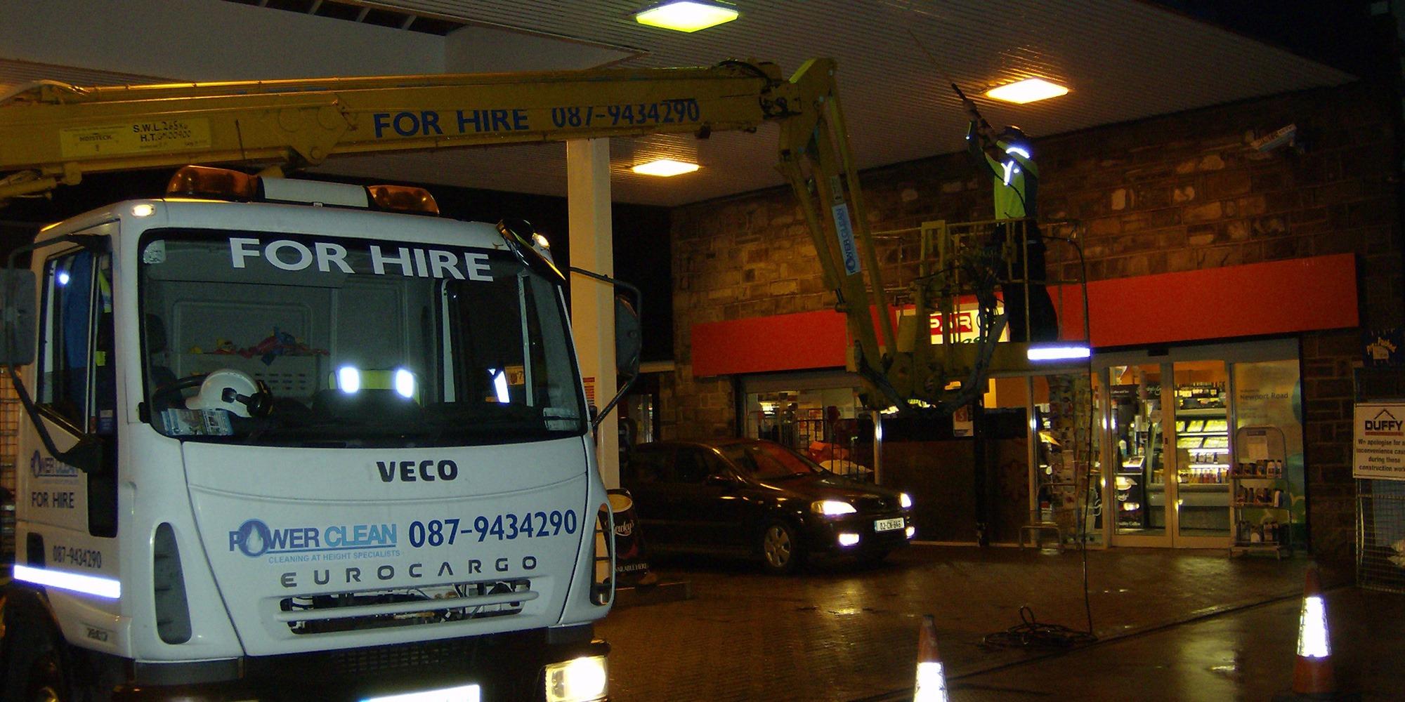Petrol-Canopy-Cleaning-Service-Mayo,-Sligo,-Roscommon,-Galway-Ireland