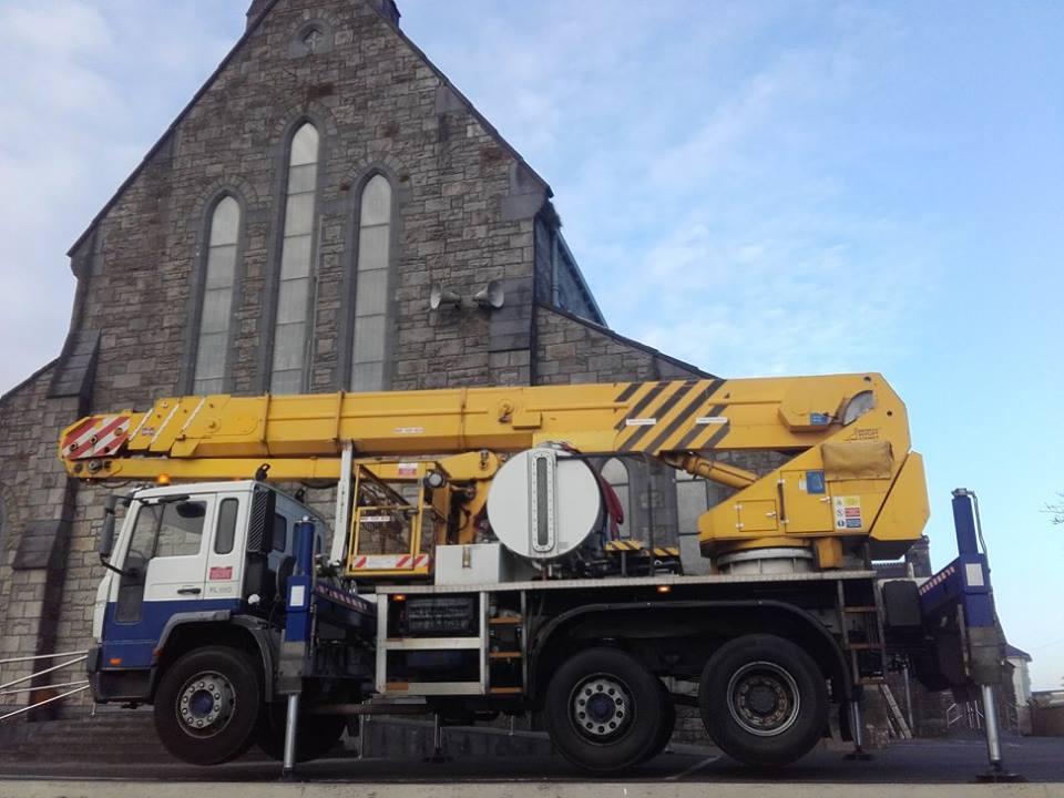 34 Meter Bronto Truck